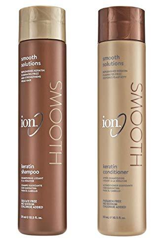 ION Keratin Smoothing Shampoo and Condtioner Set 10.5 Ounce
