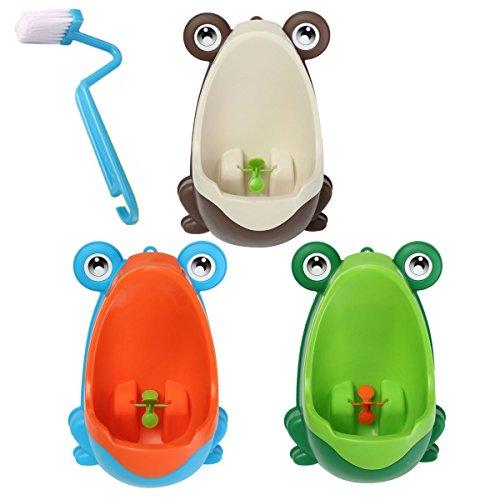 Bazaar Adorables enfants de nettoyage de la brosse de toilette pot grenouille formation enfants urinoir enfant garçon pipi bain amovible
