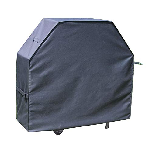Noir Housse de protection Couvercle de protection Couverture de meubles Couverture de barbecue, Imperméable Crème solaire Anti-déchirure, Convient à De plein air Balcon Tissu Oxford,64*24*48cm