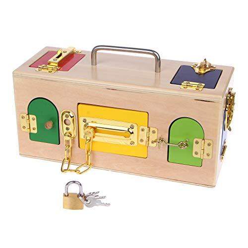Puertas y cerrojos como juguetes Montessori