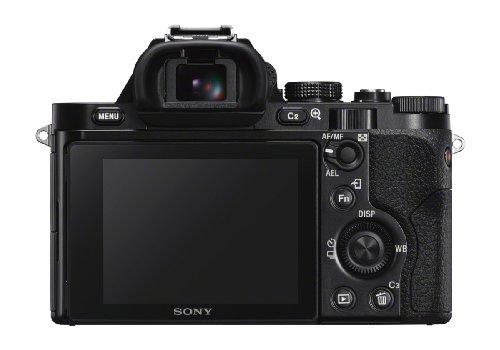 Sony Alpha 7 E-Mount Vollformat Digitalkamera ILCE-7 (24,3 Megapixel, 7,6cm (3 Zoll) LCD Display, BIONZ X, 2,3 Megapixel OLED Sucher, NFC, inkl. SEL-2870 Objektiv) schwarz
