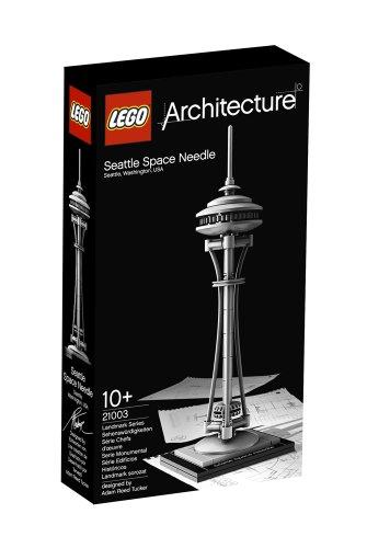 LEGO Architecture 21003 - Seattle Space Needle, costruzione a 57 pezzi