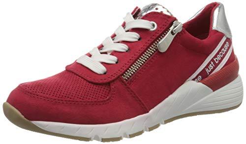 MARCO TOZZI Damen 2-2-23739-34 Sneaker, Rot (Red Comb 597), 36 EU