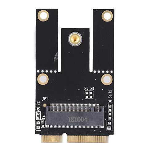 M.2 NGFF a Mini PCI-E Tarjeta Adaptadora WiFi PC, Portátil Inalámbrico Bluetooth Tarjeta de Red Convertidor, Admite Conexión en Caliente, Enchufe y Utiliza, Soporte para Sistemas Windows.