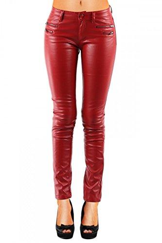 Damen (Röhre) 321, Grösse:L / 40;Farbe:Rot