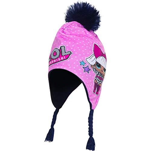 lol Cappello Surprise Inverno Bambina (52, Nero)