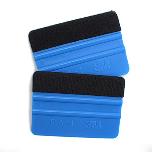Sedeta® Durable Felt Edge Wrap Wrapping Cleaning Scraper Squeegee Tool for Car Vehicle Window Film Vinyl