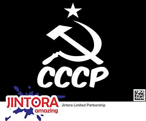 JINTORA Etiqueta Coche/Etiqueta engomada - CCCP -