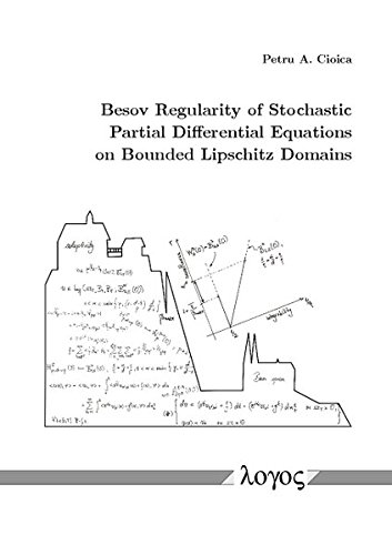 Besov Regularity of Stochastic Partial Differential Equations on Bounded Lipschitz Domains