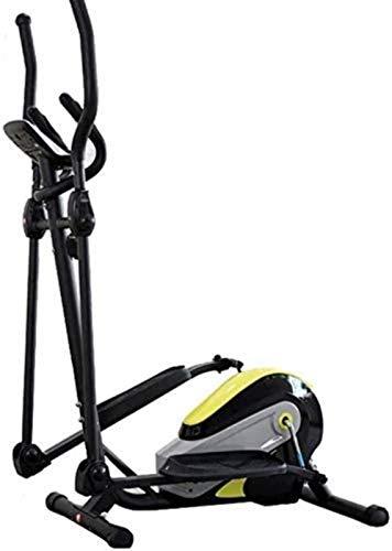 YANGYUAN Máquina elíptica Cross Trainer Cross Trainer Máquina elíptica portátil Máquina de entrenamiento cardiovascular para la oficina en casa, gimnasio, entrenamiento elíptico, cardio magnético