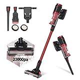 Vistefly VX Aspiradora sin Cable, 23kPA Potente, 250W, Batería Extraíble...