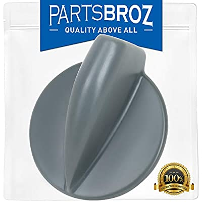 8182050 Control Knob for Whirlpool Washers & Dryers by PartsBroz - Replaces WP8182050, AP6011755, 3980094, 46197020742, PS11744954