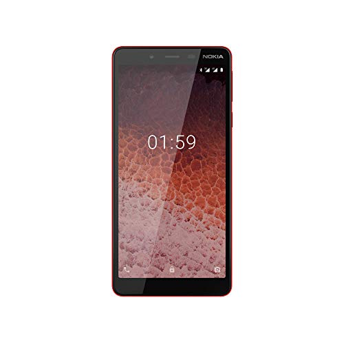 "Nokia 1 Plus 13,8 cm (5.45"") 1 GB 8 GB SIM Doble 4G Rojo 2500 mAh - Smartphone (13,8 cm (5.45""), 1 GB, 8 GB, 8 MP, Android 9.0, Rojo)"