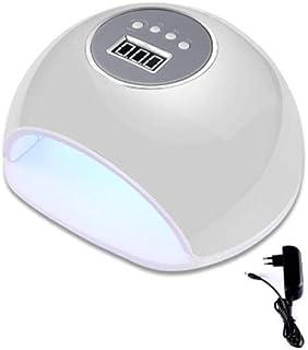 72W Led Lámpara de uñas para todos los geles Polaco Luz solar Detección infrarroja Secadora de uñas de doble luz Máquina Manicura Tools-NT-4155B-1b