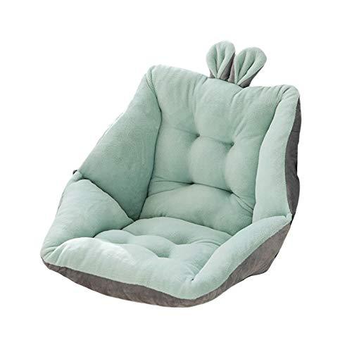 PETSOLA Reposabrazos Egg Chair Asiento Cojín Columpio Mecedora Cojín Cojín Asiento con Respaldo Alto - Verde