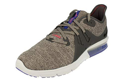 Nike Herren Air Max Sequent 3 Laufschuhe, Mehrfarbig (Dark Grey/Black/Moon 013), 40 EU