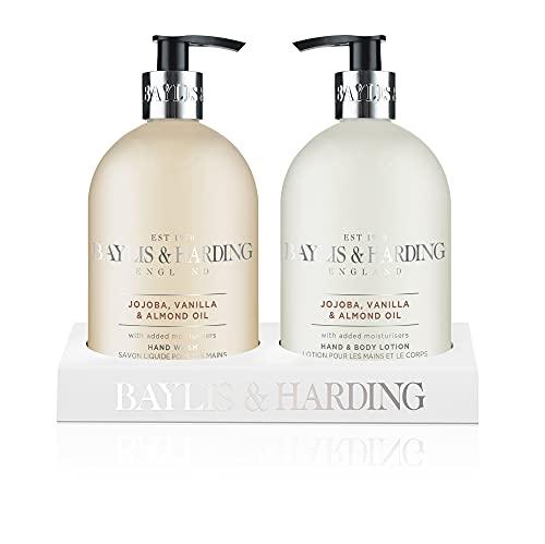 Baylis & Harding Jojoba, Silk and Almond Oil 2 - Bottle Set