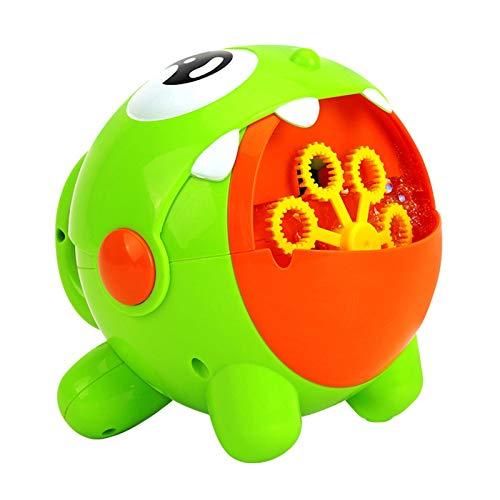 DUTUI Máquina De Burbujas Automática Recargable para Niños, Escenario para Bodas, Máquina De Soplado De Burbujas para Interiores Y Exteriores, Juego De Regalo para Niños