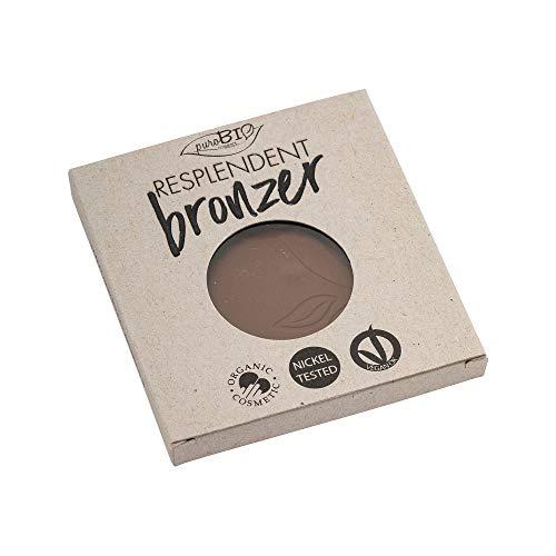 PuroBio Resplendent Bronzer-Nachfüllung, Nr. 04 Mud Braun, 9 g
