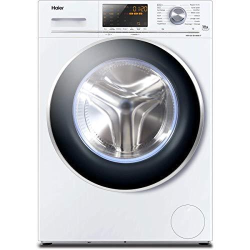 Haier HW120-B14686 Autonome Charge avant 12kg 1400tr/min A+++ Blanc machine à laver - Machines à laver (Autonome, Charge avant, Blanc, boutons, Rotatif, LED, Noir)
