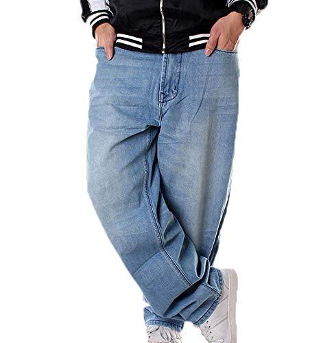 Pantalones de Baile Callejero de Moda Estilo Hip Hop de los Hombres Pantalones de Rap Pantalones Rap