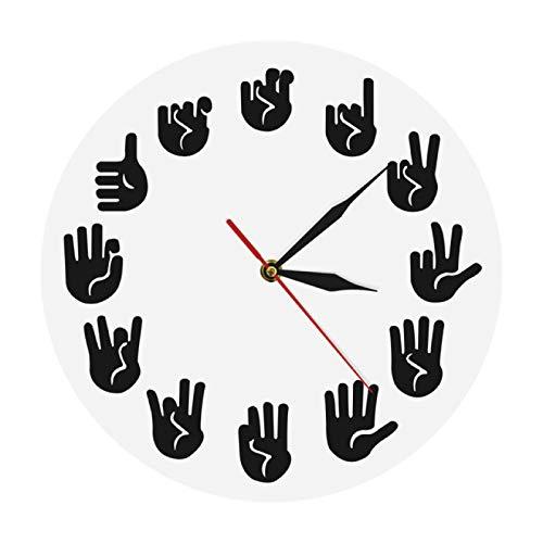 Reloj de Pared con Burbujas DIY Reloj de Pared Gigante Efecto de Espejo Arte de Pared Decoración del hogar Decoración de Acuario Reloj de Aguja Grande sin Marco Reloj