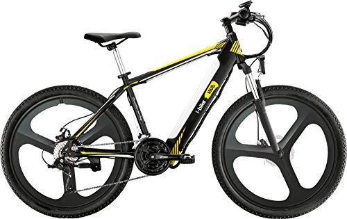 i-Bike, Mountain Mud Unisex Adulto, Nero Bianco Giallo, Unica