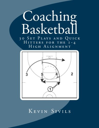 Coaching Basketball: 30 Set Plays and Quick Hitters for the 1-4 High Alignment (English Edition)