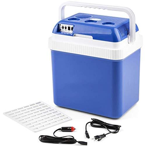 WENYAO Elektrische Kühlboxen für Camping, Autokühler Portable Freeze 12V / 220-240V (24L) Autokühlschränke, tragbarer Kühlschrank, Fernfahrten und Camping