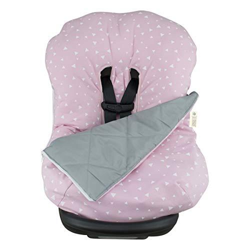 JANABEBE Copertina invernale per il bebè Pink Sparkles