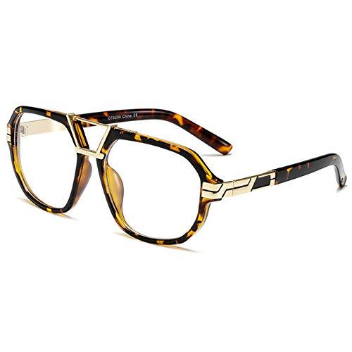 XMYNB Gafas de sol Hombres Clásicos Gafas De Sol Masculinas Plaza Plaza Gafas De Sol Vintage Lujo Sunglass Uv400 Shades