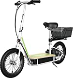Razor EcoSmart Metro Electric Scooter – Padded Seat, Wide Bamboo...