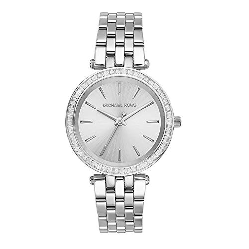 Michael Kors Reloj analogico para Mujer de Cuarzo con Correa en Acero Inoxidable MK3364