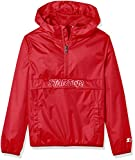 Starter Boys' Popover Packable Jacket, Team Red, M (8/10)