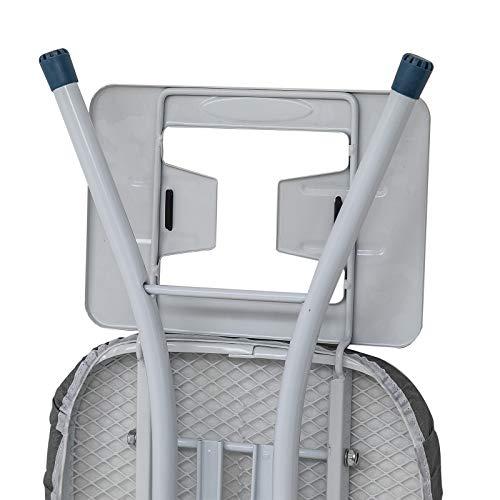 WOLTU BGT01gr Bügeltisch Bügelbrett für Dampfbügeleisen höhenverstellbar - 6