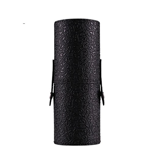 LHWY pelle-Beauty Case per make-Organizer portatile-Porta-tazza