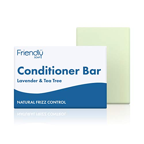 Friendly Soap Natural Lavender and Tea Tree Conditioner Bar 95g