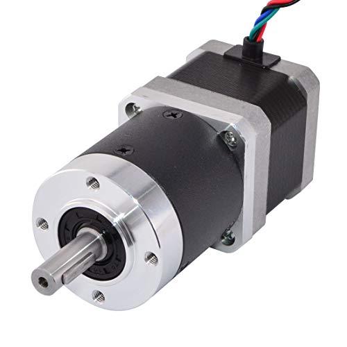 Stepperonline Nema 17 Moteur de transmission de vitesse de 39 mm pour imprimante 3D, machine CNC