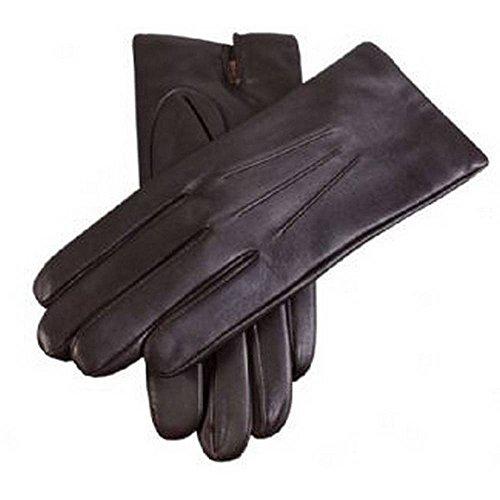 Dents Brown Cashmere Lined gants de cuir clair 8
