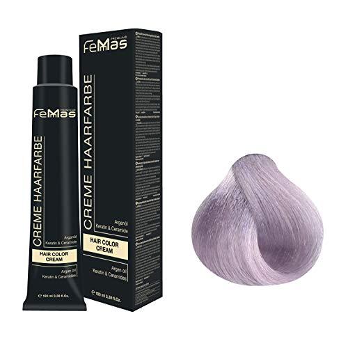 Femmas Hair Color Cream 100ml Haarfarbe (Lichtblond Lavendel 9.21)