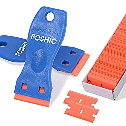Plastic Razor Scrapers Knife with Contoured Grip