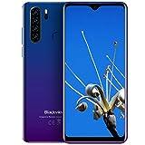 Blackview A80 Pro (2020) Smartphone 4G - 6,49 pollici Android 9.0 4 GB RAM + 64 GB ROM, 128 GB 4680 mAh Batteria 13 MP + 8 MP Doppia fotocamera Dual SIM Telefono cellulare Blu