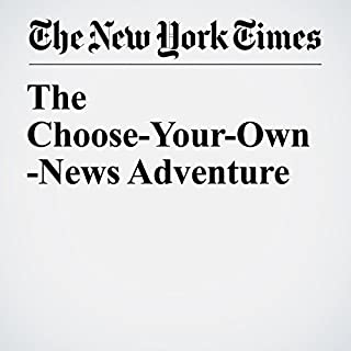 The Choose-Your-Own-News Adventure cover art