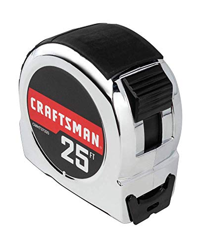 CRAFTSMAN Tape Measure, 25-Foot (CMHT37325S)