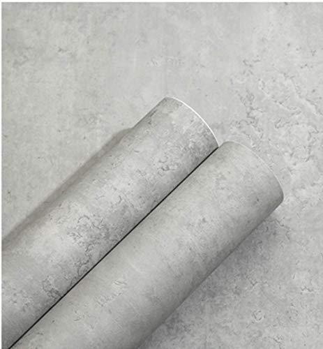 Klebefolie Betonoptik Wasserfest Verdickt 10m*60cm Retro stil Vintage Tapete betonoptik Klebefolie Aufkleber Rolle Concrete