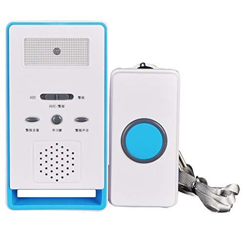 NAMYA Botón de alarma inteligente para el hogar, botón de pánico, marcador inalámbrico, sistema de alarma para llamar de emergencia, para ancianos y niños