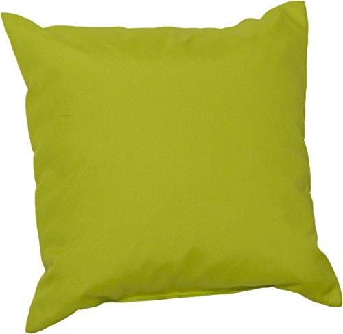 Beo Beo Deko 45x45PY203 Lounge Dekokissen mit wasserabweisendem Bezug, hellgrün, 45 x 45 cm
