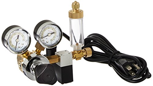 Milwaukee Instruments MA957 Dual-Valve CO2 Adjustable Flow Pressure Regulator, Dual Reading psi and kg/cm
