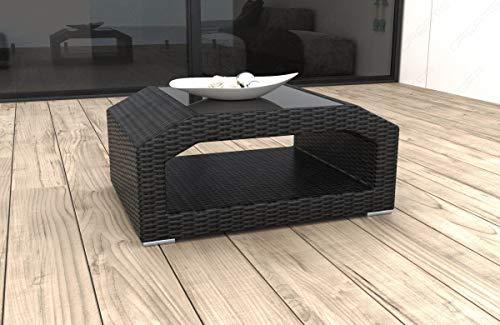 Sofa Dreams Designer Rotin Table Matera pour Jardin et Terrasse