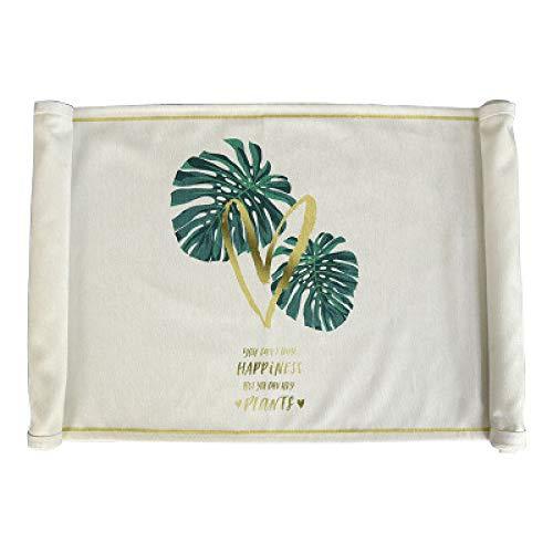Brandless Flat Corner Table Runner Printing Velvet Fabric Table Flag For Kitchen Dining | Tabletop | Decoration | Parties | Weddings